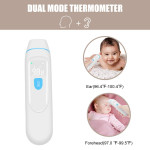 Ear Forehead Thermometer Baby Temporal Thermometer Digital Medical Thermometer for Fever, Infrared Thermometer for Kids Baby and Adult