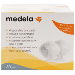 Medela Disposable Bra Pads 30 Pieces
