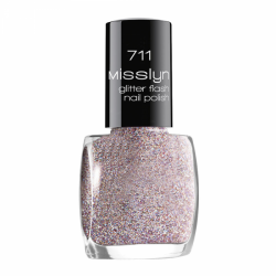 Misslyn Glitter Flash Nail Polish No. 711 Forever Young