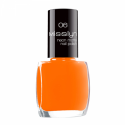 Misslyn Neon Matte Nail Polish No. 06 Volcanic