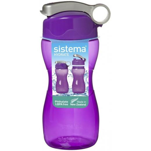 Sistema Hourglass Bottle Display Shippers 475ml , Purple