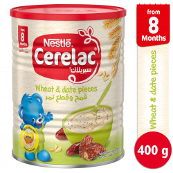 Cerelac Wheat And Date Pieces Stage3 400g