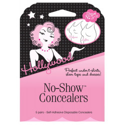 Hollywood Fashion Secrets No-Show Nipple Concealers (Disposable CoverUps)