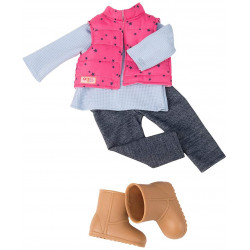 """Our Generation by Battat- Trekking Star Outfit for 18"""" Dolls- Toys, Doll Clothes & Accessories for Ages 3 Years & Up"""
