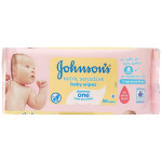 Johnson's Baby Extra Sensitive Baby Wipes, 56 Wipes