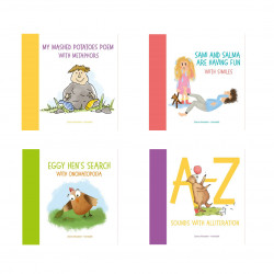Blooming Books, Set of 4 Stories