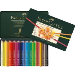 Faber Castell Polychromos Colour Pencil, Tin Of 36