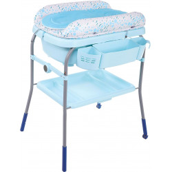 Changing table with bath Chicco Cuddle & Bubble Blue