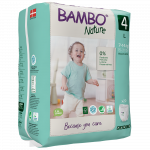 Bambo Nature Pants Size 4 (7-14 Kg), 20 diapers