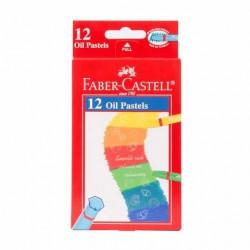 Faber Castell Oil Pastel Grip 74mm,12 colors