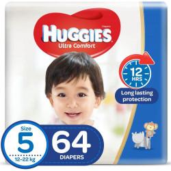 Huggies Mega Diapers Size (5) 64X1