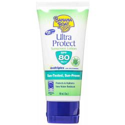 Banana Boat Ultra Protect Sunscreen Lotion Spf 80, 90ml