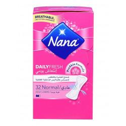 فوط صحية ديلي فريش عادي من نانا  ، 32 فوطة
