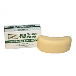 Tea Tree Therapy, Vegetable Base Soap, with Tea Tree Oil, Bar,  (110 g)