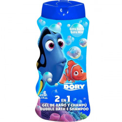 Disney Finding Dory 2 in 1 Shampoo and Bubble Bath, 475 ml
