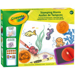 Crayola Creative Set of Stamps for Drawing and Colouring with Stamps for Game and Gift