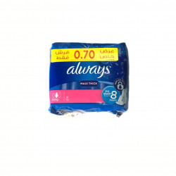 Always Maxi Thick, 9 Pads