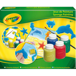 Crayola - Sponge Paint Kit - Activities for children