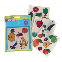Crayola Mini Kids Fruits and Vegetables Stickers