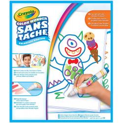 Crayola - Recharge pages blanches Color Wonder - Coloriage magique