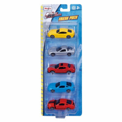 Maisto Fresh Metal Fresh Pack Toy 5 pieces. Assorted
