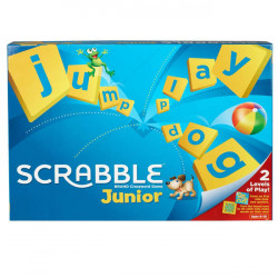 Mattel Games Scrabble Junior, Children Board Game