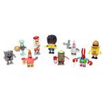 مجسمات صغيرة ميجا بلوكس سبونج بوب مربع سلسلة 3 حزمة مجسمات صغيرة 24 × 1 - اشكال متنوعة - اختيار عشوائي