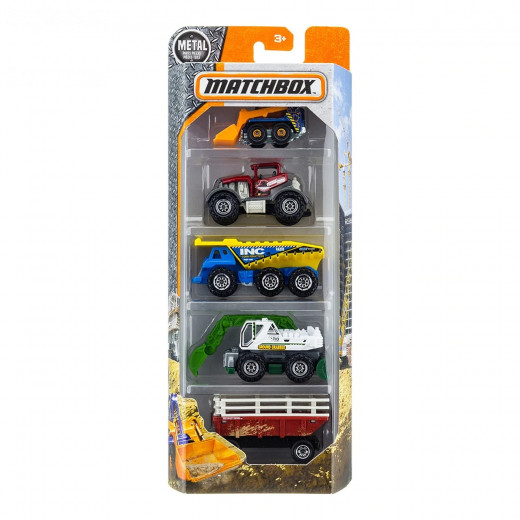 Matchbox 5 Pack Basics Assortment