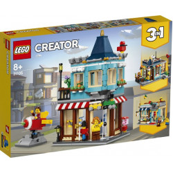 LEGO Townhouse and Toy Shop