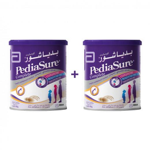 Abbott - Pediasure Complete Nutrition Milk Powder 400G - Chocolate ( 2 Tins Free Delivery Offer)