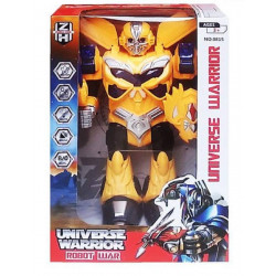 AdiChai Transformer Robot Toy Can Walk with Lights and Music for Kids, Assortment