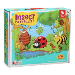 Insect Party Puzzle, 208 pieces