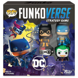 Funkoverse Strategy Game: DC 4 Pack