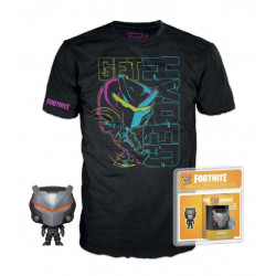 Funko Pocket Pop! & T-Shirt Fortnite Omega -Size M