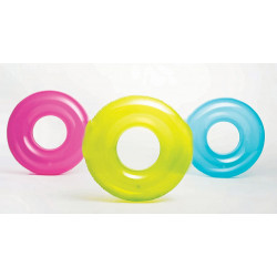 Intex - 30 inch Transparent Swim Tube, Assortment