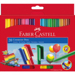Faber Castell Connector Pen 20 Colors