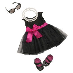 B. toys by Battat Our Generation Audrey Dress & Pearls Deluxe Outfit