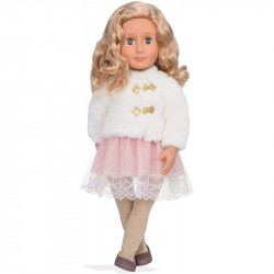 "Our Generation Doll by Battat- Valencia 18"" Regular Non Posable Ballerina Fashion Doll- for Ages 3 & Up"