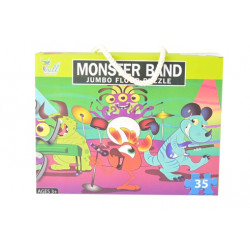 Monster Band Jumbo Jigsaw Puzzles 35 Pieces