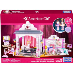 Mega Bloks American Girl Isabelle's Ballet Recital Construction Set
