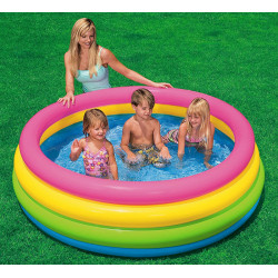 Intex Sunset Glow Swimming Pool, 168 cm X 46 cm