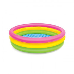 Intex 3 Ring Pool Multi Color 114 cm X 25 cm