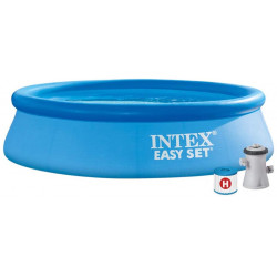 Intex Inflatable pool, with filter, 305 cm X 76 cm