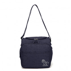 ColorLand Multi-functional Mommy bag with 6 pockets, Navy Blue