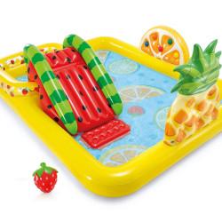 Intex Fun fruity Play Center Swimming Pool Outdoor 2.44m x 1.91m x 91cm