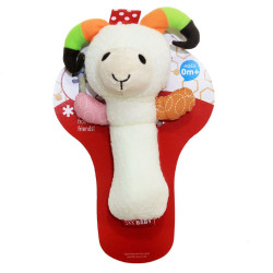 Skk Baby Squeeze Me Rattle, Sheep