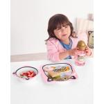Skip Hop Zoo Melamine Plate & Bowl Set, Leopard