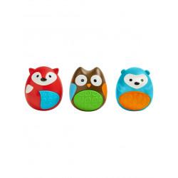 Skip Hop Baby Musical Toys: Explore & More Egg Shaker Trio, 3 Pieces