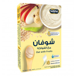 Sahha Oat with Fruits, 250g