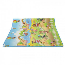 Educational Double-Sided Baby Play Mat, Models & Colors May Vary